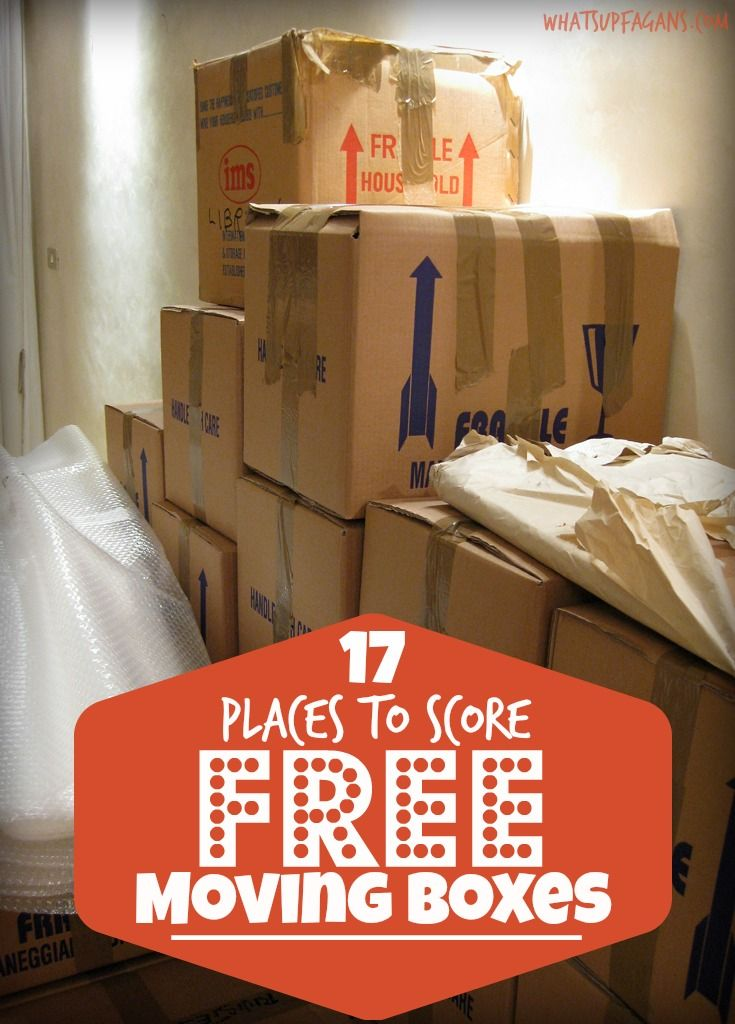 17 Places Where You Can Get Free Moving Boxes