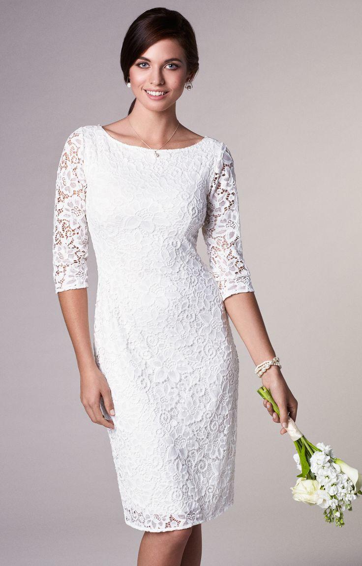 Macie shift wedding dress ivory in 2020 shift wedding