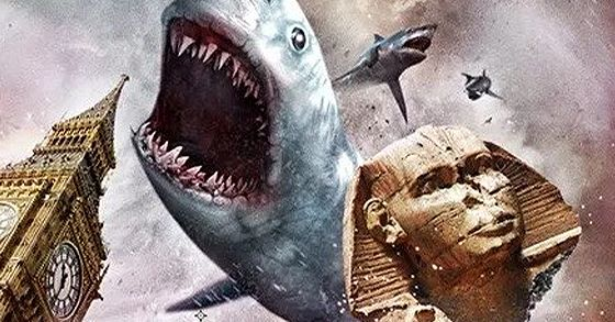 SHARKNADO 5: GLOBAL SWARMING ecco il teaser trailer