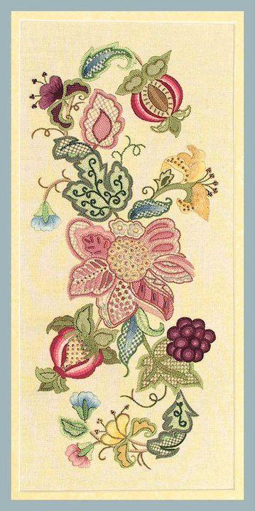 Gorgeous Jacobean Embroidery