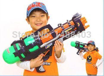 Давление воздуха водяной бластер пистолет спорта на открытом воздухе летом пляж стрелялки брызги Nerf Gun Fun дети детские игрушки интерактивные игры