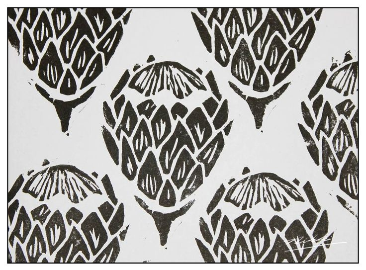 The Baobab Telegraph: Protea Print