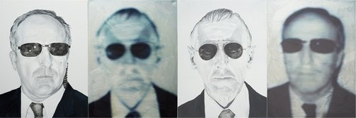 Garry Smith and Frank Thirion's portraits of 'The Faceless Men' has made it into the Archibald Prize!