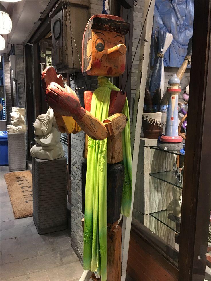 Pinocchio in Bali