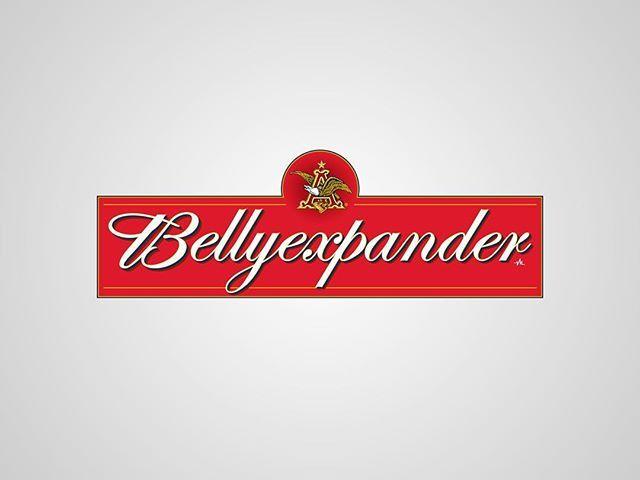 I thought I'd post my previous series of #honestlogos from 2011 - #12 Bellyexpander. #adbusting #parody #logo #satire #graphicdesign #viktorhertz #beer #budweiser