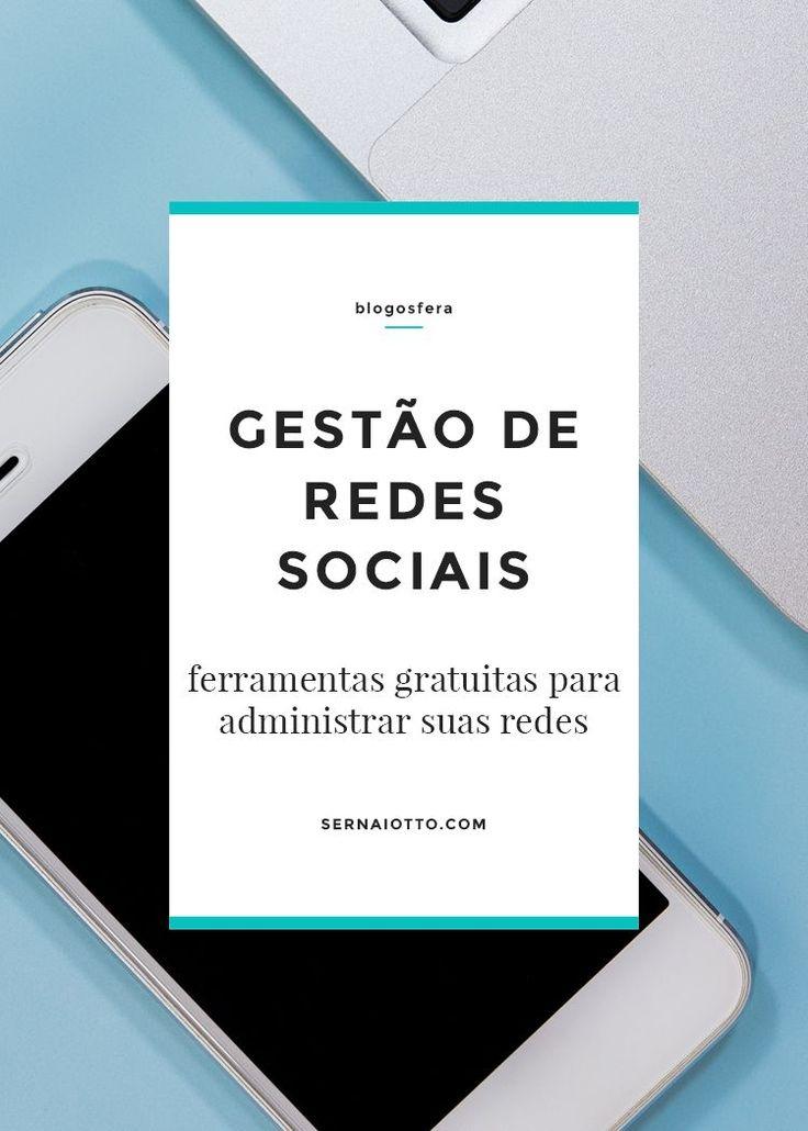 Uma lista deferramentas para gestão de redes sociais, gratuitas ou premium - ideais para blogueiros que administram poucas redes e muito conteúdo.