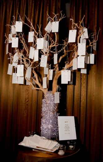 My Favorites Wedding Tree Money