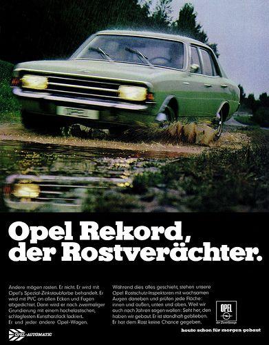 Opel Rekord C (1969) der Rostverächter