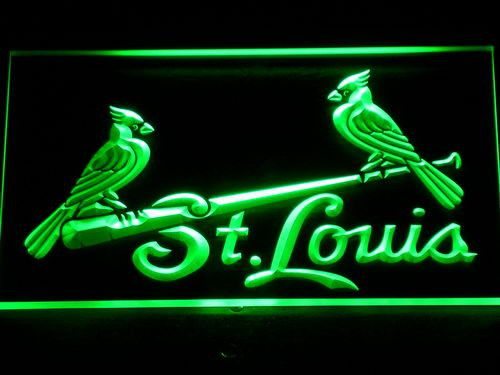St. Louis Cardinals Birds LED Neon Sign
