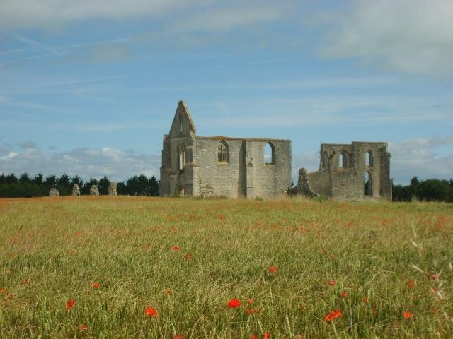 Abbaye Chatelier sur l'île de Ré © CRT Poitou-Charentes