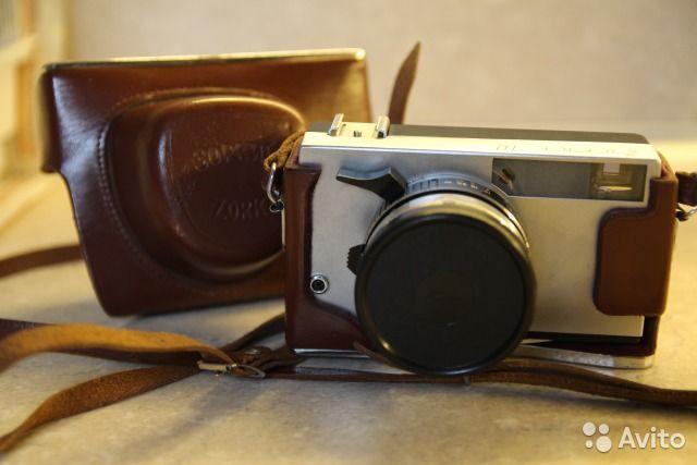 Фотоаппарат Zorki 10 с объективом Industar-63— фотография №1