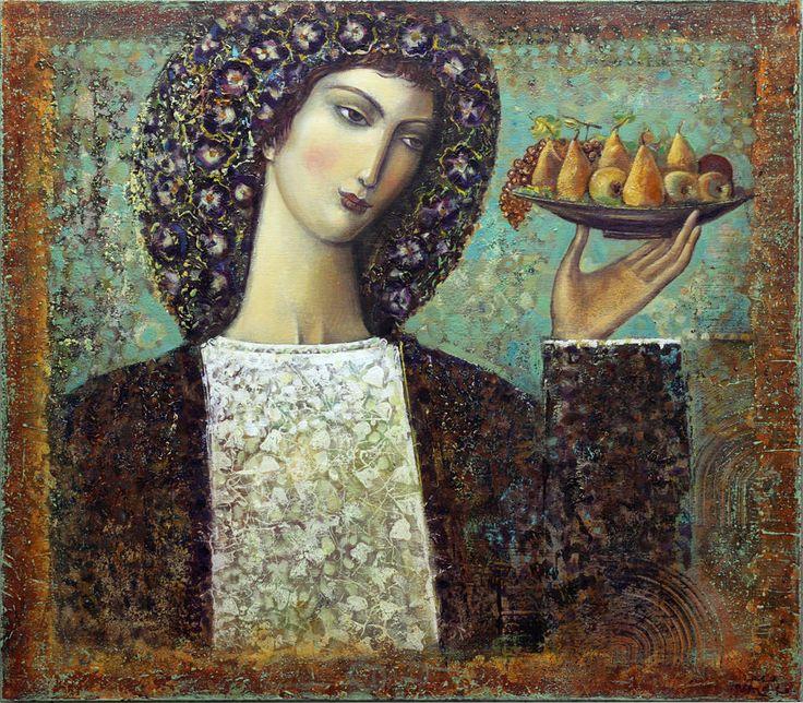 "Saatchi Art Artist: Valeri Tsenov; ""FLORA"""