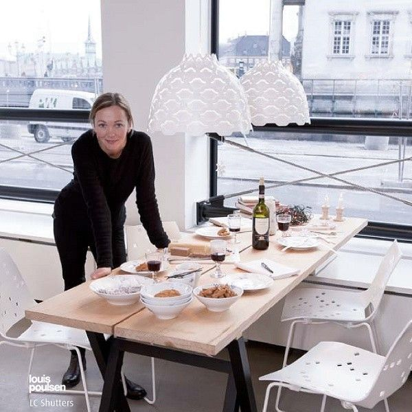 Louis Poulsen Lighting LC Shutters, design Louise Campbell
