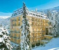 Hotell Salzburger hof, sts alpresor, österrike, bad gastein, åka skidor