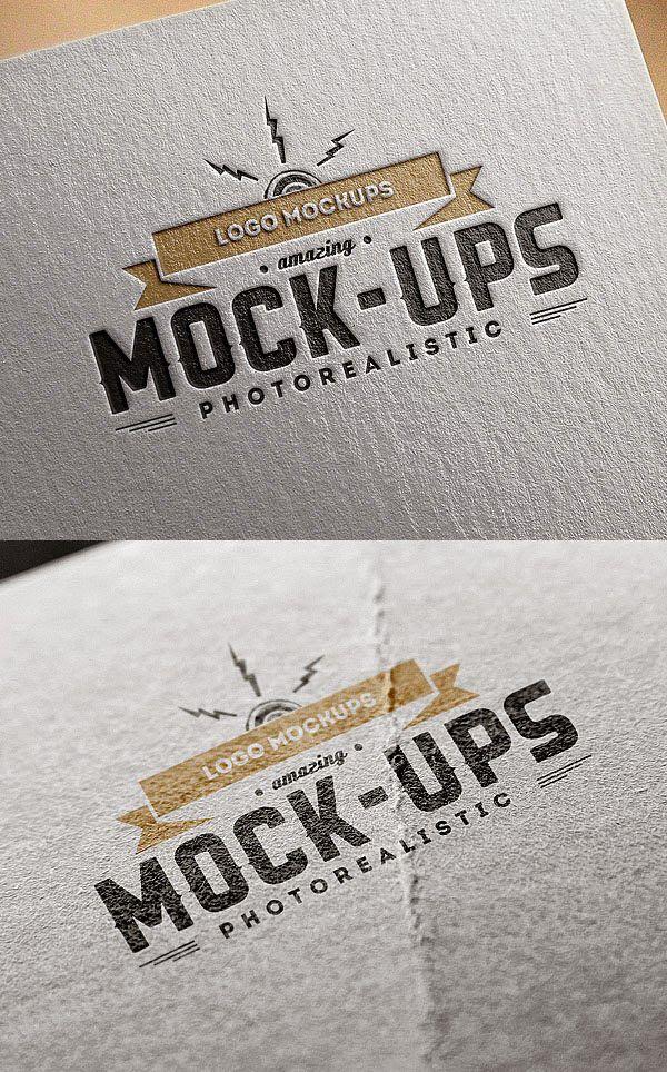 30 Mockup Desain Logo Gratis Download File Photoshop Free Logo Mockup Logo Mockup Free Logo Mockup Psd
