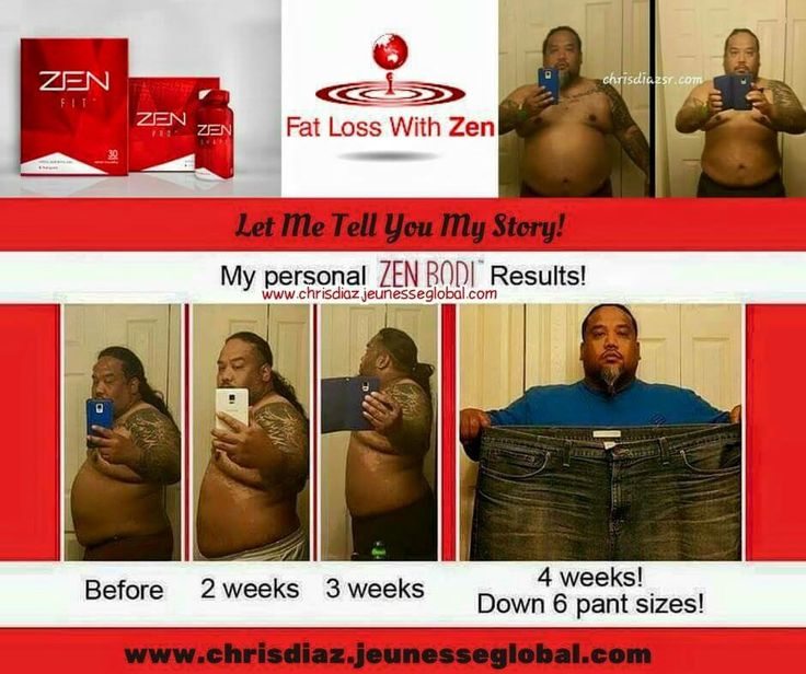 Chris Diaz fat loss with ZEN BODI