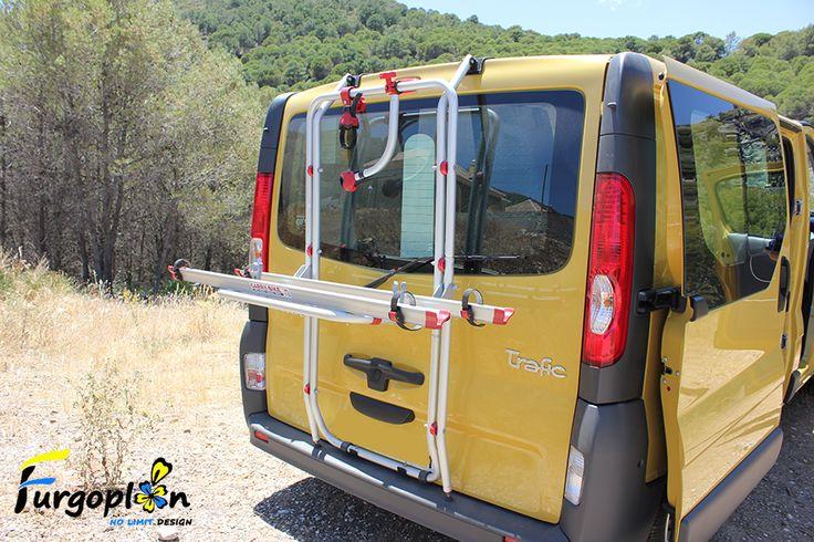 Portabicicletas Fiamma Carry Bike Para Renault Trafic Www