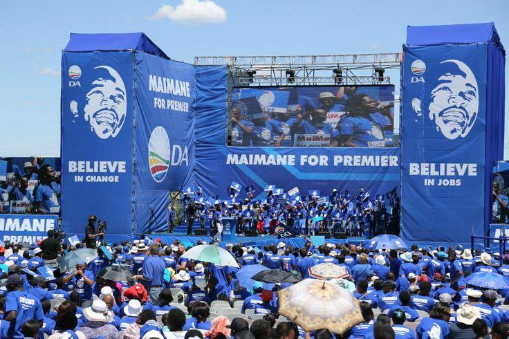 Mmusi Maimane, Democratic Alliance, Kliptown, Elections2014, Believe in Change