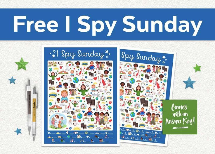 This free I Spy Sunday printable game is perfect for church, Sunday School, primary, and family home evening! If you are looking for a great way to help kids get through church, this game is perfect! Just print and laminate fur use over and over again! Get it today at www.TeepeeGirl.com!