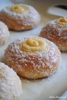 Skolebrød - Skoleboller una masa dulce típica de Noruega, que te va a encantar.