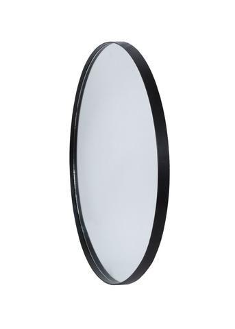 Deep Frame Circular Mirror