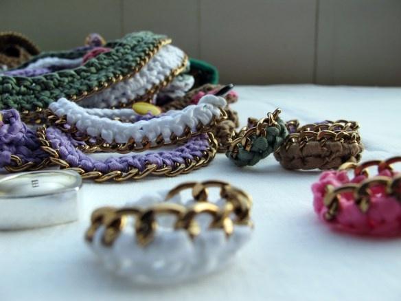 anelli catena e fettuccia