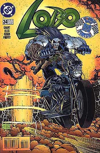 1000+ images about Lobo on Pinterest   Dc comics, Simon bisley and ...