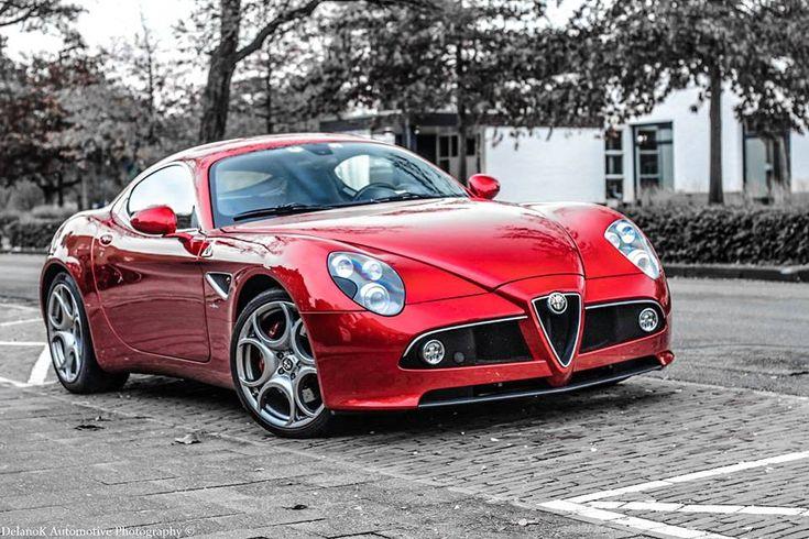Alfa Romeo 8C #alfa #alfaromeo #italiandesign