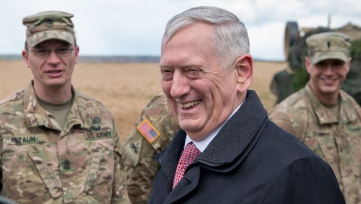"""General """"Mad Dog"""" Mattis Just Took A Veiled Shot At BIGOT Trump In Viral Speech To Troops...."""