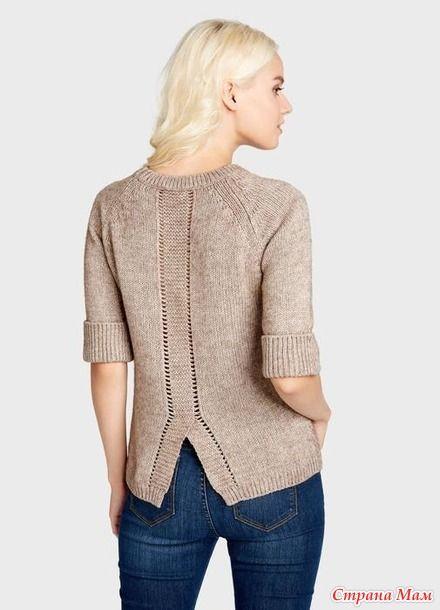 Здравствуйте, девочки! Заканчиваю вязать пуловер с веточкой, в мьіслях планьі для следующего проекта роятся... Все как у всех.  Потому предлагаю к совместному вязанию реглан от Остин: