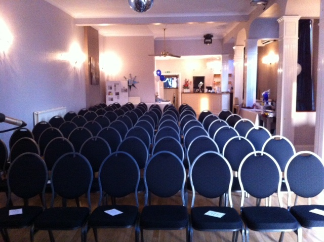The function room, where it all happens