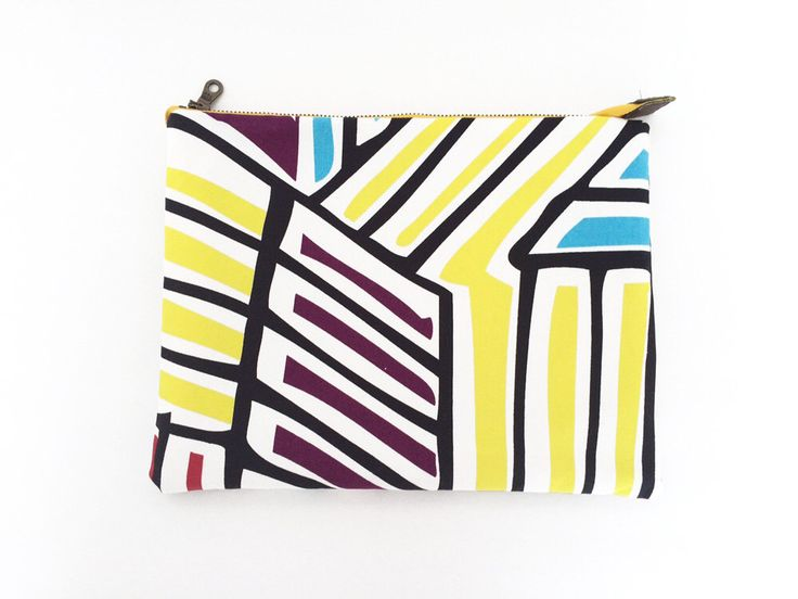 A personal favorite from my Etsy shop https://www.etsy.com/listing/229546880/handmade-clutch-bag-large-multicolor