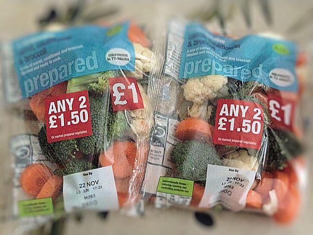 Cauliflower Broccoli and Carrots