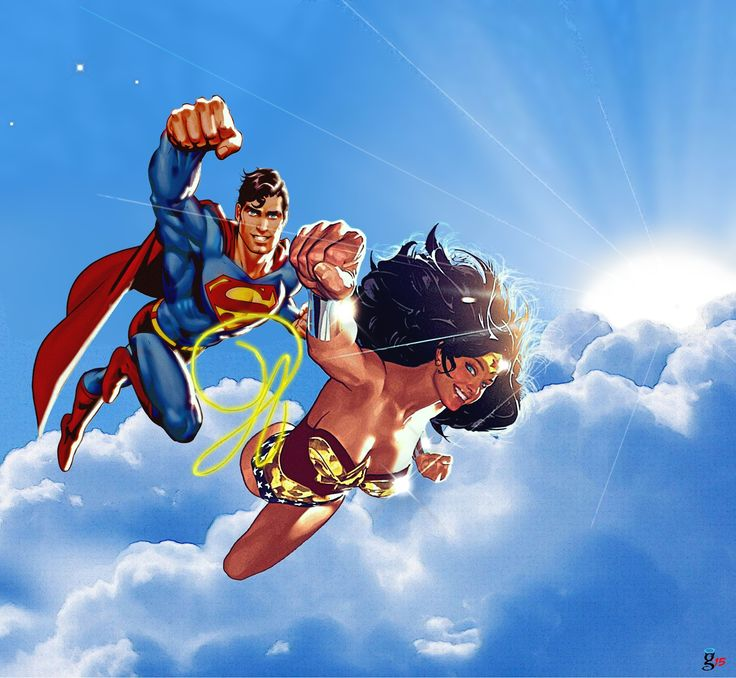 169 Best Images About Superman And Wonder Woman On ...
