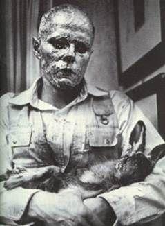 죽은 토끼에게 어떻게 그림을 설명할 것인가, 요셉 보이스, 1965