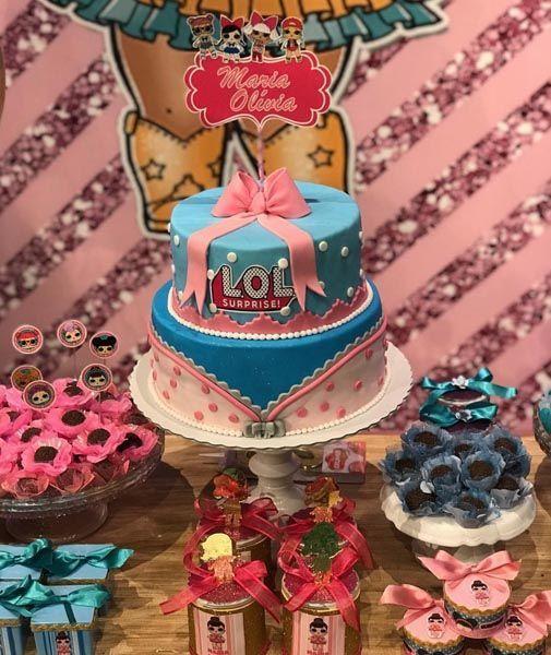 50 Lol Überraschung 9 Party-Ideen   – Kate's LOL Dolls Birthday – #birthday #… – LoL Dolls