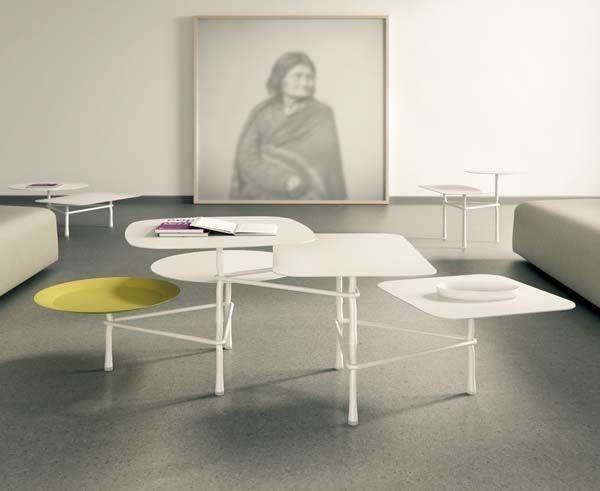 Tavolino Tiers - design Patricia Urquiola - Viccarbe