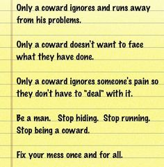 you are a coward quotes - Google Search