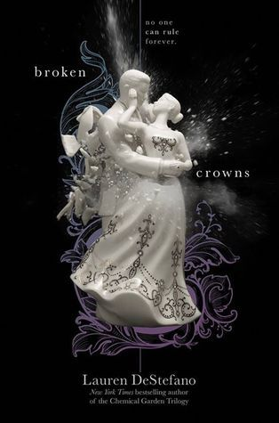 Broken Crowns (Internment Chronicles #3) - Lauren DeStefano With their floating city utopia threatened by war on the ground and the greed of two kings, Morgan and the others from Internment must find a way to save the city from falling out of the sky or being obliterated altogether.