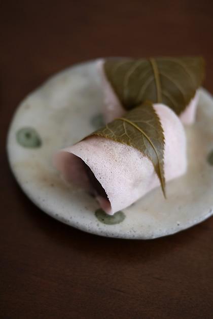 Sakura Mochi, Kanto Style 関東風 桜餅