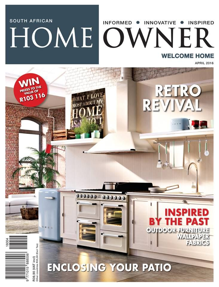 We are featured in the latest April Issue of Home Owner p.g 62 -Showcasing our beautiful Devon wall cappings and Jura pavers.