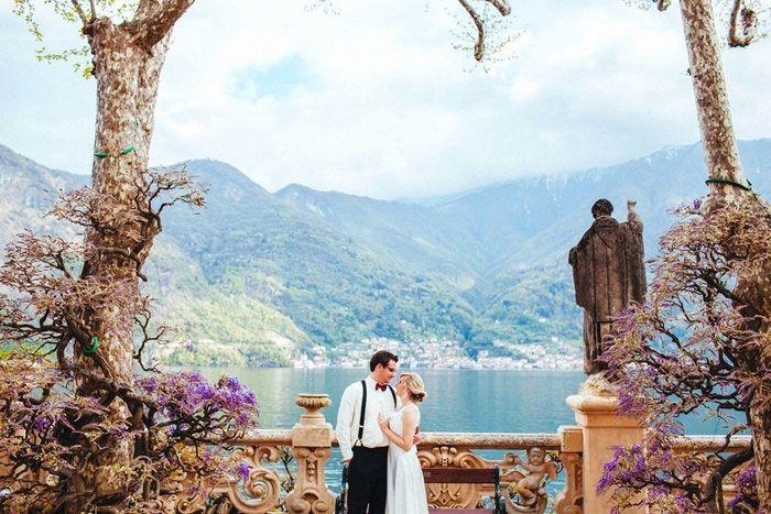Absolutely beautiful! --Rebecca and Elijah's Lake Como Villa Wedding