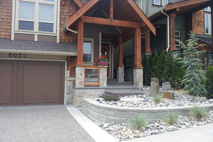 Stone Columns Ideas For The House Pinterest Stone