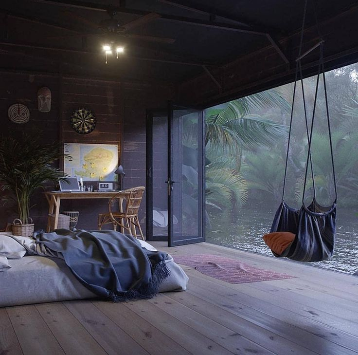 Cozy Homedecoration:  Cozy Room With A Swing & A View Check Out Desigedecors.com