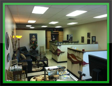 One of the best Las Vegas tattoo shops! Executive Tattoo Lounge.