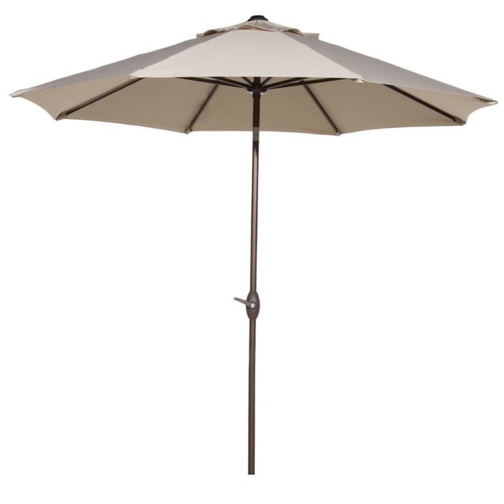 Abba Patio 11 Feet Patio Umbrella with Push Button Tilt and Crank 8 Steel  Ribs. 25  best ideas about Beige Outdoor Furniture on Pinterest   Porch