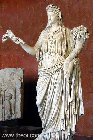 Demeter is also known as the mother bee, who governs the cycles of life.