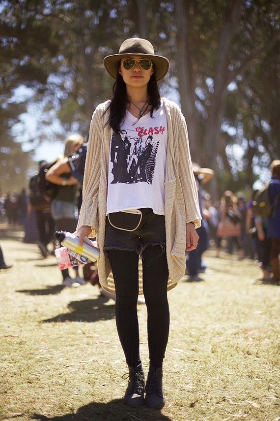 Festival Fashion at Outside Lands – Day Three