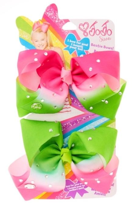 JoJo Siwa Small Watermelon Rhinestone Bestie Hair Bow