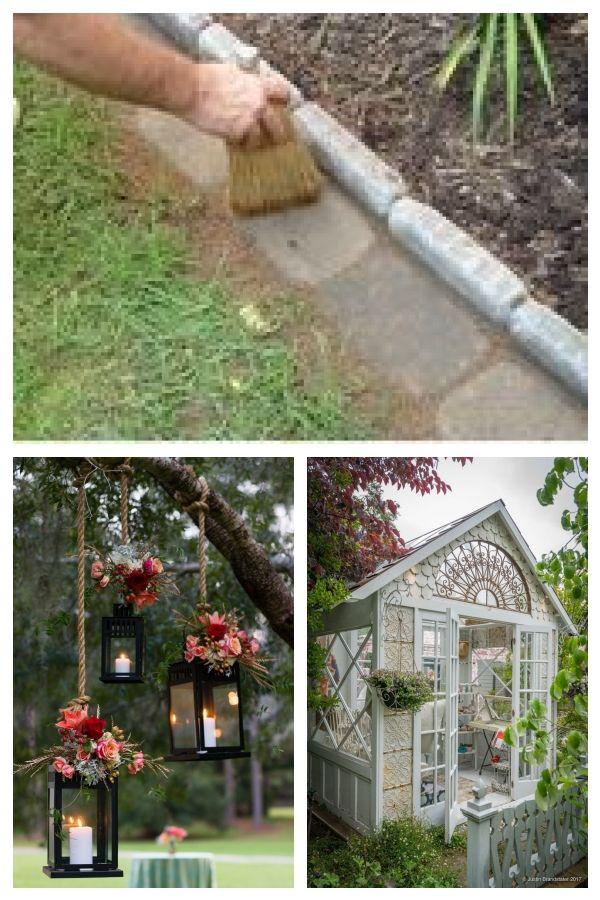 Ziegeleinfassung Fur Ihre Blumenbeete Kreative Moglichkeiten Alte Ziegelsteine In Ihrem Garten Zu Verwenden Outdoor Structures Garden Outdoor